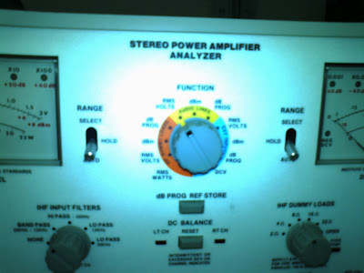 Stereo Power Analyzer!
